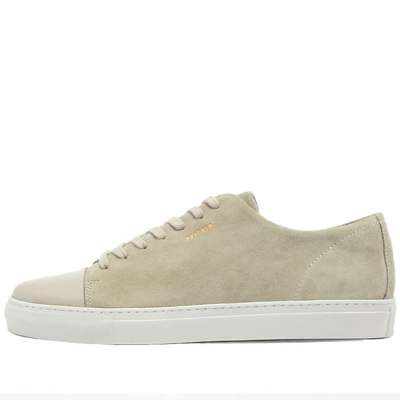 CAP TOE LEATHER - OFF WHITE